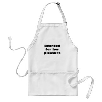 Bearded for her Pleasure Adult Apron