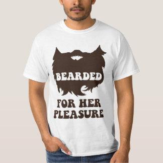 Bearded For Her Pleasure T-Shirt