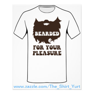 Bearded For Your Pleasure Flyer