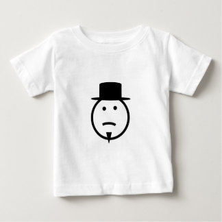 Bearded frown face tophat gear t-shirts