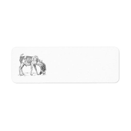 Bearded Goat Label