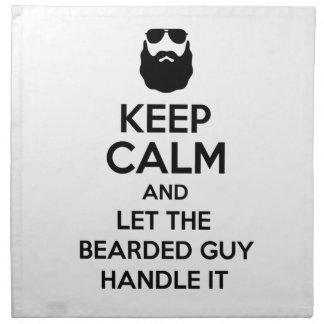 Bearded Guy Napkin