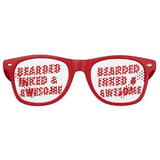 Bearded, Inked & Awesome Wayfarer Sunglasses