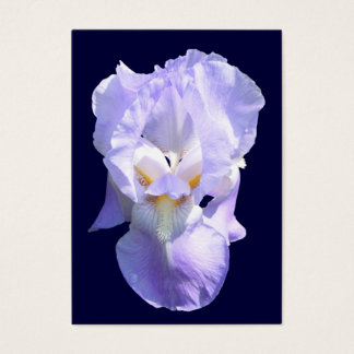 Bearded Iris ~ ATC card