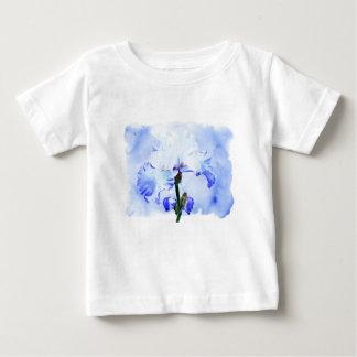 Bearded Iris - Blue And White Baby T-Shirt