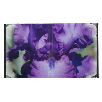 Bearded Iris iPad Folio Covers