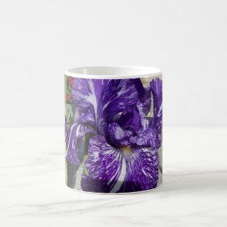 Bearded Iris Classic White Coffee Mug