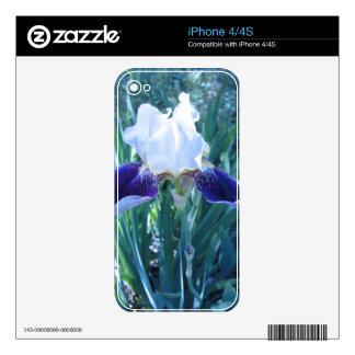 Bearded Iris Cultivar Mary Todd iPhone 4S Decal