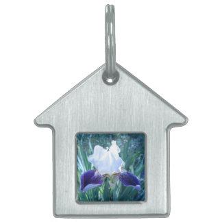 Bearded Iris Cultivar Mary Todd Pet Tag