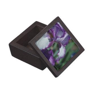 Bearded Iris Flower Premium Gift Box