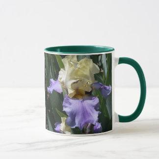 Bearded Iris, Greek name meanin... Mug