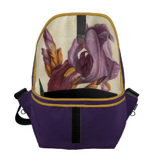 Bearded Iris Messenger Bag