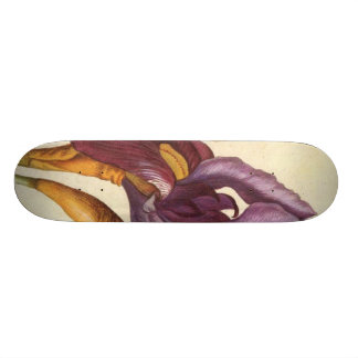 Bearded Iris Skateboard