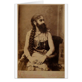 Bearded Lady Card