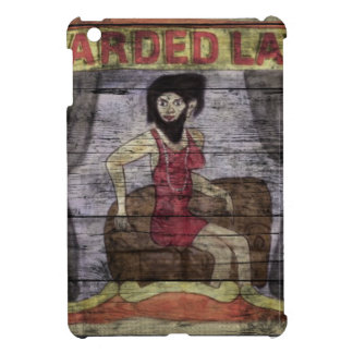 Bearded Lady Vintage Canival Banner Case For The iPad Mini