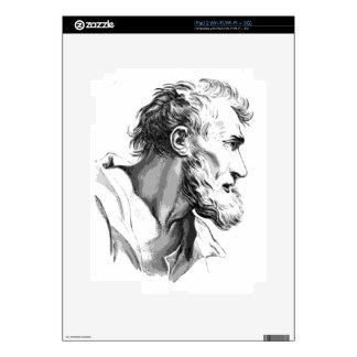 Bearded Man Skin For iPad 2