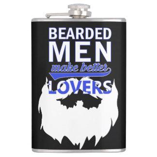 Bearded men make better lovers flask