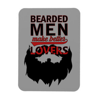Bearded men make better lovers magnet