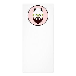 Bearded Panda Rack Card