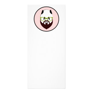 Bearded Panda Rack Cards