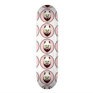 Bearded Panda Skateboard Deck