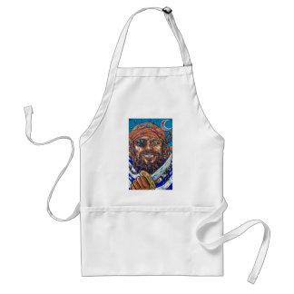 bearded pirate adult apron