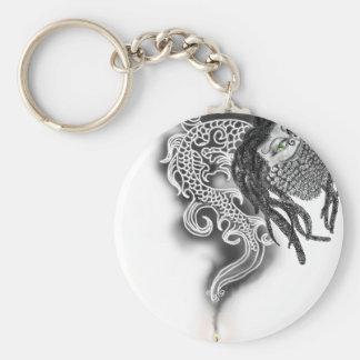 Bearded-Rasta-Dragon Keychain