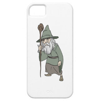 Bearded Wizard with Wizard's Staff iPhone SE/5/5s Case