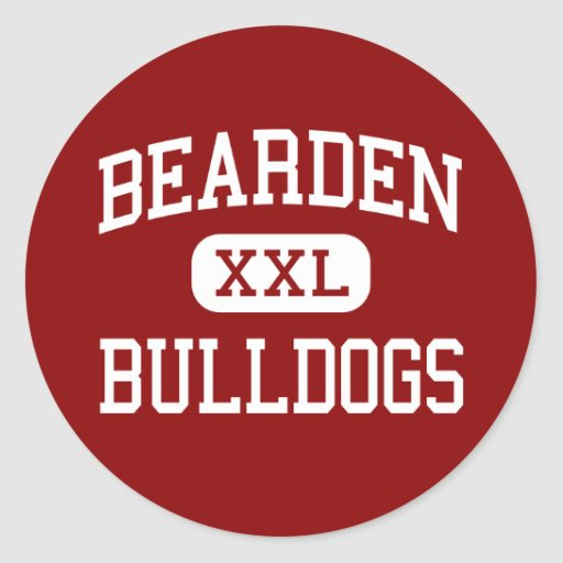 Bearden - Bulldogs - High - Knoxville Tennessee Stickers