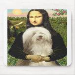 Beardie 16 - Mona Lisa Mouse Pad