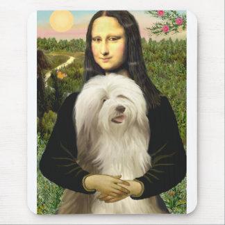 Beardie 16 - Mona Lisa Mousepad