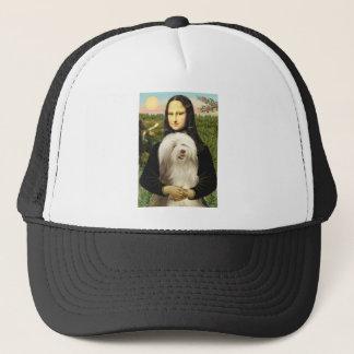 Beardie 16 - Mona Lisa Trucker Hat