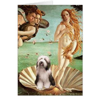 Beardie 1 - Nacimiento de Venus Tarjeta De Felicitación
