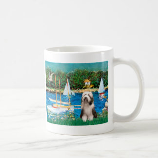 Beardie 1 - Sailboats Coffee Mug