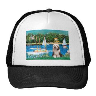 Beardie 1 - Sailboats Trucker Hat