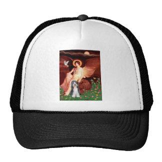Beardie 6 - Seated Angel Trucker Hat