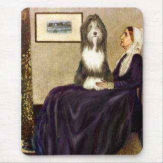 Beardie 9 - Madre de las marmotas Alfombrilla De Ratón