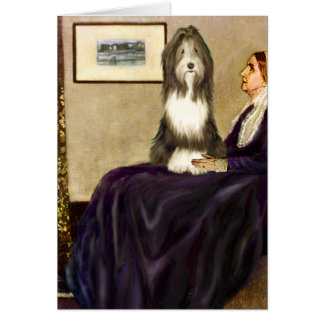 Beardie 9 - Madre de las marmotas Tarjeta De Felicitación