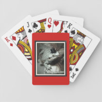Beardie in a Top Hat Standard Playing Cards