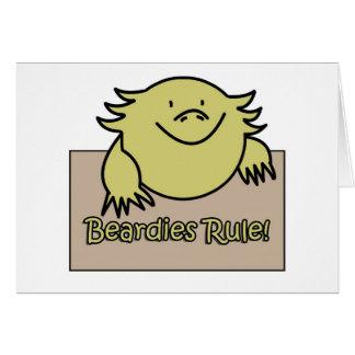 Beardies Rule! Card