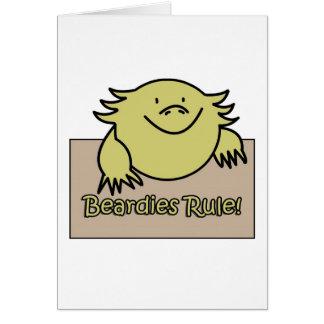 Beardies Rule! Cards