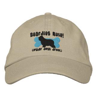 Beardies Rule Embroidered Hat