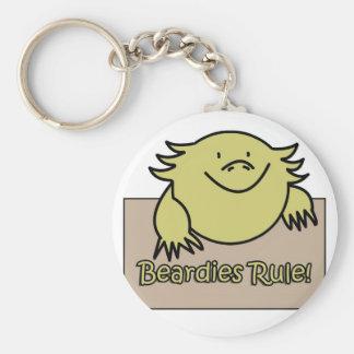 Beardies Rule! Key Chains