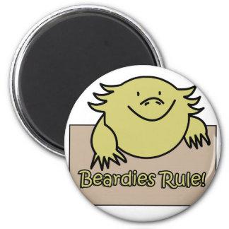 Beardies Rule! Fridge Magnet