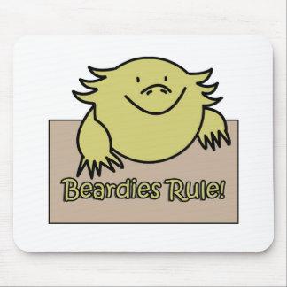 Beardies Rule! Mousepads