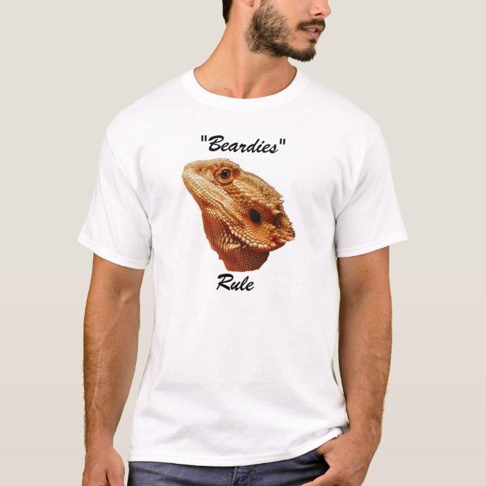 """""""Beardies Rule""""  T-Shirt"""