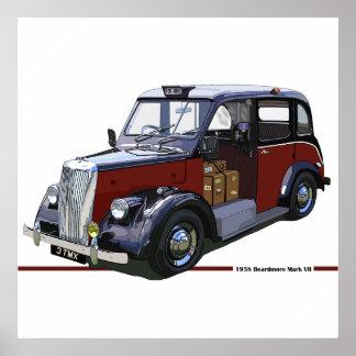 Beardmore MkII Taxi Poster