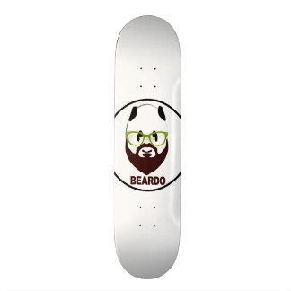 Beardo panda skateboard