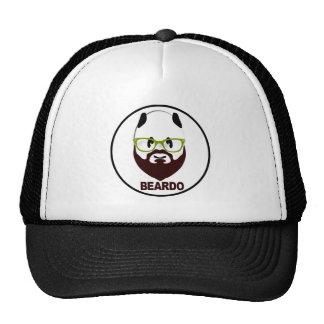 Beardo panda trucker hat