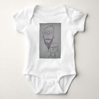 BEARDon1.jpg Baby Bodysuit